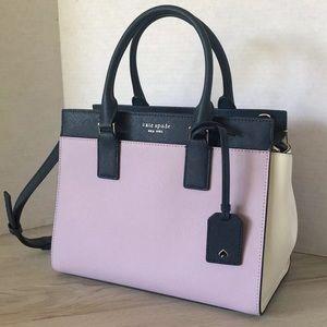 Kate Spade Cameron medium satchel lavender satchel